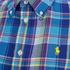 Polo Ralph Lauren Women's Relaxed Evie Shirt - Blue/Lime: Image 3