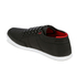 Boxfresh Men's Sparko Ripstop Low Top Trainers - Black/Chilli Red: Image 5