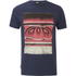 Animal Men's Loffy Graphic Print T-Shirt - Indigo Blue: Image 1