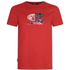 Animal Men's Claw Graphic Print T-Shirt - Bright Red: Image 1