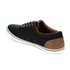 Jack & Jones Men's Vision Mix Canvas Pumps - Anthracite: Image 5