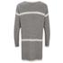 Vero Moda Women's Odelia Long Sleeve Coatigan - Light Grey Melange: Image 2