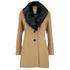 Vero Moda Women's Cilla Daisy 3/4 Jacket - Tobacco Brown: Image 1