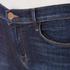 J Brand Women's 811 Mid Rise Skinny Jeans - Oblivion: Image 4