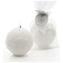 Stoneglow Seasonal Collection Snowball Candle Stocking Filler: Image 1