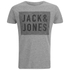 Jack & Jones Men's Rider T-Shirt - Light Grey Melange: Image 1