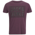 Jack & Jones Herren Rider T-Shirt - Burgundy: Image 1