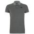 Jack & Jones Men's Part Polo Shirt - Grey Melange: Image 1