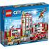 LEGO City: La caserne des pompiers (60110): Image 1