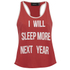 MINKPINK Women's Next Year Tank Top - Red/White: Image 1