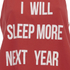 MINKPINK Women's Next Year Tank Top - Red/White: Image 3