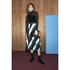 Ganni Women's Block Stripe Midi Skirt - Block Stripes: Image 2