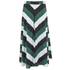 Ganni Women's Block Stripe Midi Skirt - Block Stripes: Image 3
