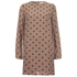 Ganni Women's Polka Dot Dress - Nougat Polka: Image 1