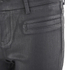 Selected Femme Women's Glossy Cropped Pants - Black: Image 4