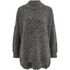 Selected Femme Women's Erica Knitted Pullover - Dark Grey Melange: Image 1