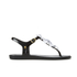 Melissa Women's Solar Hawaii Sandals - Black Contrast: Image 2