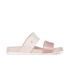 Melissa Women's Cosmic 15 Double Strap Slide Sandals - Nude: Image 1