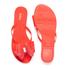 Melissa Women's Harmonic Twin Bow Flip Flops - Coral Pop: Image 5