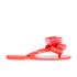 Melissa Women's Harmonic Twin Bow Flip Flops - Coral Pop: Image 2