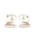 Vivienne Westwood For Melissa Women's Solar 21 Toe Post Sandals - White Contrast: Image 4
