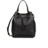 Furla Women's Stacy Drawstring Bucket Bag - Black: Image 1