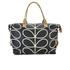 Orla Kiely Women's Stem Zip Holdall Bag - Black: Image 5