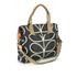 Orla Kiely Women's Stem Zip Messenger Bag - Black: Image 2