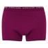 Bjorn Borg Men's Seasonal Basic 3 Pack Boxer Shorts - Beet Red: Image 2