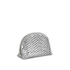 Loeffler Randall Women's Large Perforated Cosmetic Bag - Silver: Image 2