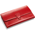 Aspinal of London Women's Classic Travel Wallet - Berry Red: Image 2