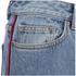 Marc by Marc Jacobs Women's Wide Leg Denim Trousers - Crop Blue: Image 4