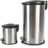Morphy Richards 977102 Oval Pedal Bin Set - Stainless Steel - 30L & 5L: Image 2
