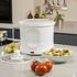 Elgento E010 Potato Peeler and Salad Spinner - White: Image 4