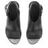 Alexander Wang Women's Nadia Leather Heeled Sandals - Black: Image 2