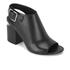 Alexander Wang Women's Nadia Leather Heeled Sandals - Black: Image 5