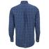 GANT Men's Tiebreak Twill Check Shirt - Marine: Image 2