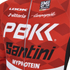 PBK Santini Replica Team Long Sleeve Jersey - Red/White/Black: Image 3