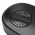 Marc by Marc Jacobs Women's Dot Fur Slide Sandals - Black: Image 4