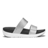 FitFlop Women's Loosh Slide Sandals - Silver: Image 1