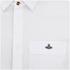 Vivienne Westwood MAN Men's Tartan Krall Short Sleeve Shirt - White: Image 3