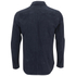 Our Legacy Men's Suede Zip Shirt - Navy: Image 2