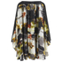 Lavish Alice Women's Abstract Print Floaty Dress - Multi: Image 3
