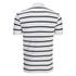 Polo Ralph Lauren Men's Short Sleeve Slim Fit Striped Polo Shirt - White/Black: Image 2