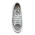 Superga Women's 2750 Animalnetw Classic Trainers - Snake Silver: Image 3