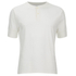 Universal Works Men's Single Jersey Short Sleeve Eton T-Shirt - Ecru: Image 1