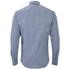 BOSS Orange Men's Edipoe Patterned Long Sleeve Shirt - Navy: Image 2