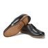 Grenson Women's Dulcie Leather Wave Top Derby Shoes - Black: Image 6