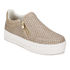 Ash Women's Jordy Puff/Nappa Wax Flatform Slip-On Trainers - Taupe: Image 4