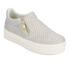 Ash Women's Jordy Puff/Nappa Wax Flatform Slip-On Trainers - Marble: Image 4